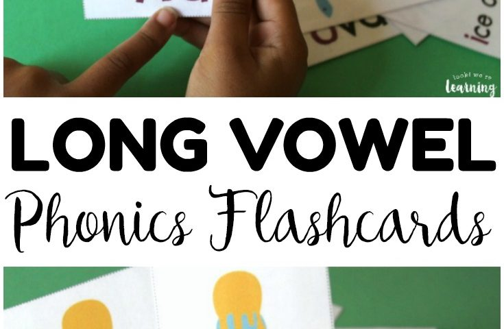 Free Printable Flashcards: Long Vowel Flashcards