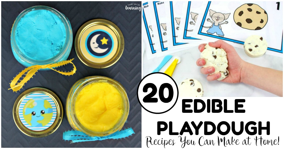 20 Edible Playdough Recipes You Can Make at Home