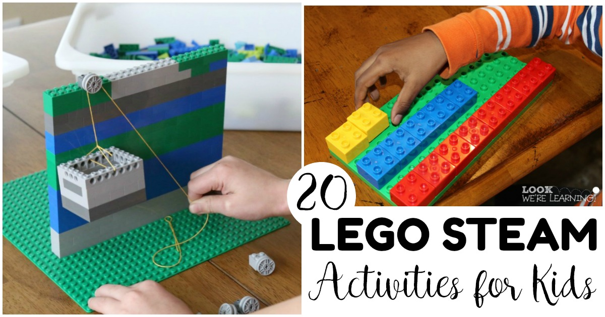 Bring STEAM learning to life with these fun and easy LEGO STEAM activities for kids!