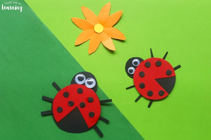 Easy Paper Ladybug Craft for Kids to Make