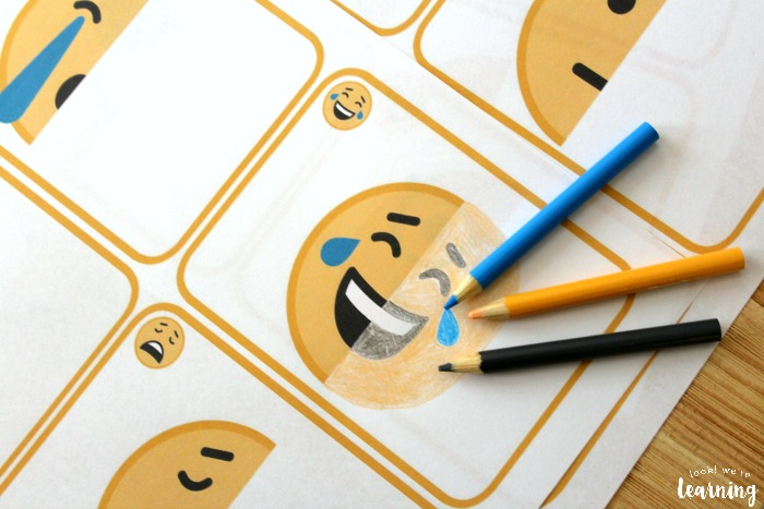 Fun Emoji Drawing Activity for Kids