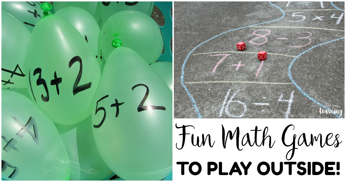 Fun Outdoor Math Games for Kids