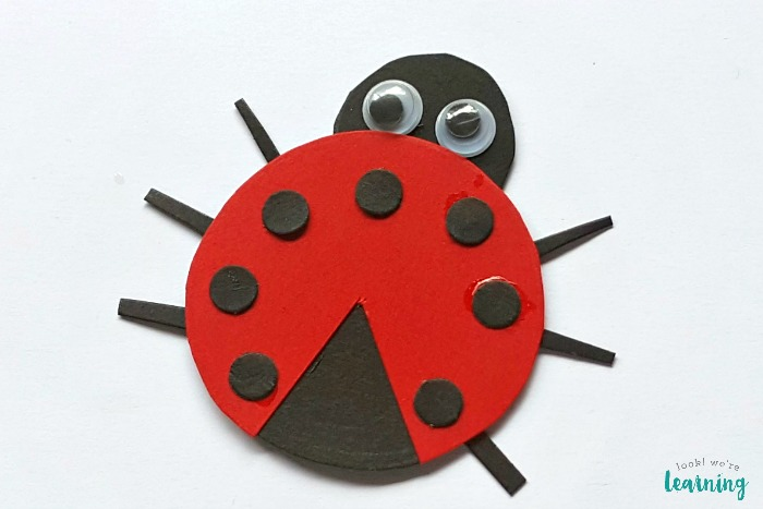 Fun Paper Ladybug Craft for Kids