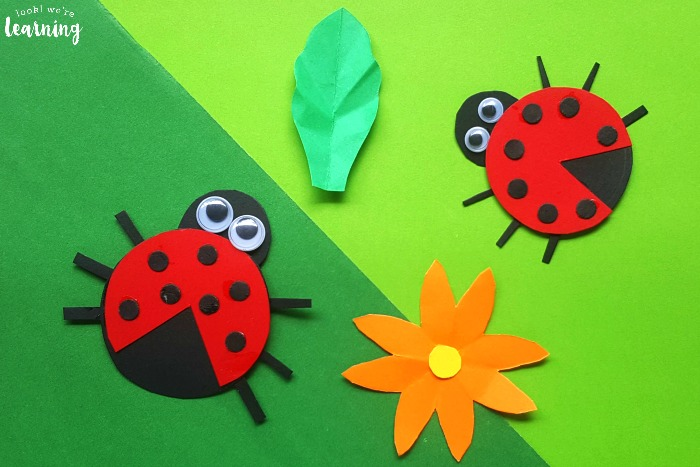 Fun and Easy Paper Ladybug Craft for Kids