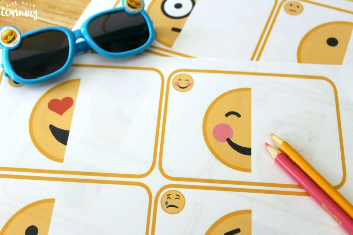 Printable Finish the Emoji Drawing Activity