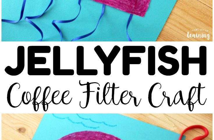 Coffee Filter Crafts for Kids: Simple Coffee Filter Jellyfish Craft