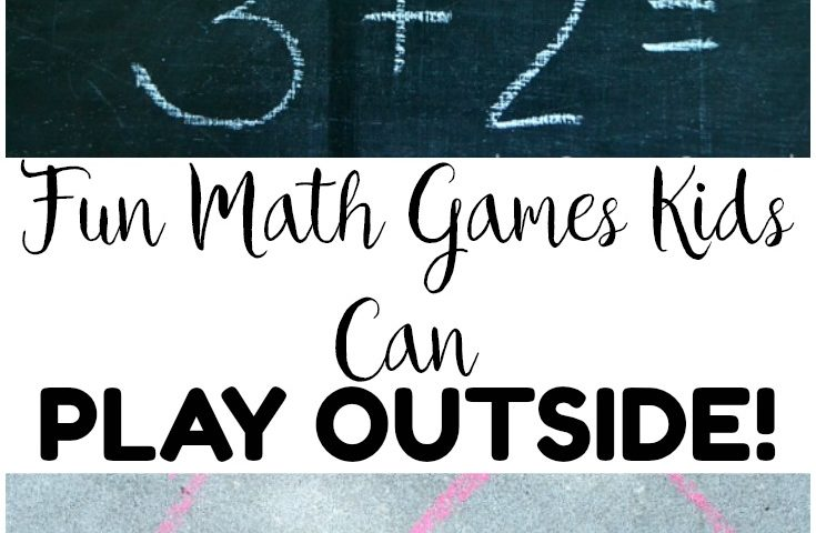 Easy and Fun Outdoor Math Games for Kids