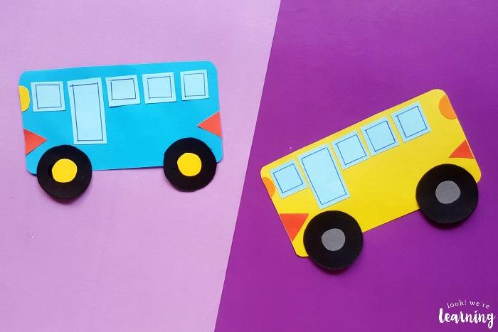 Fun School Bus Craft for Kids