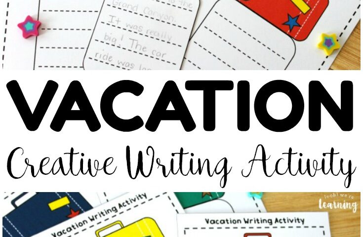 Travel Tales! Vacation Creative Writing Activity for Kids