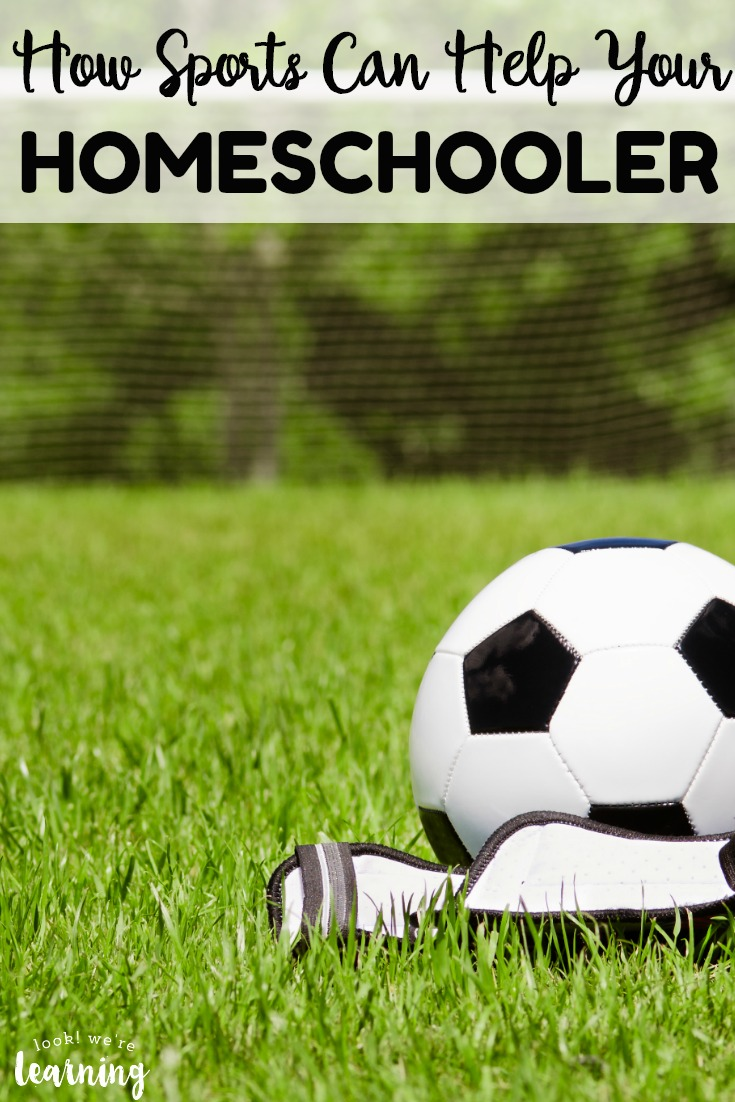 Homeschoolers get so many benefits from participating in sports! See how playing sports can help your homeschooler too!