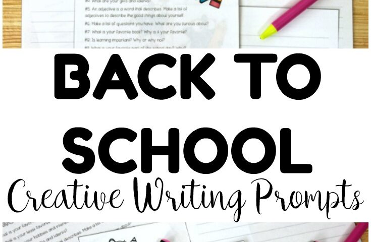 Back to School! Creative Writing Prompts for Kids