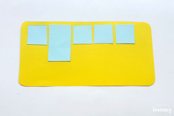 Simple Paper School Bus Craft