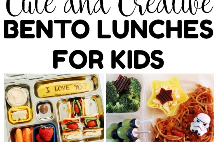 20 Cute and Creative Bento Lunches for Kids