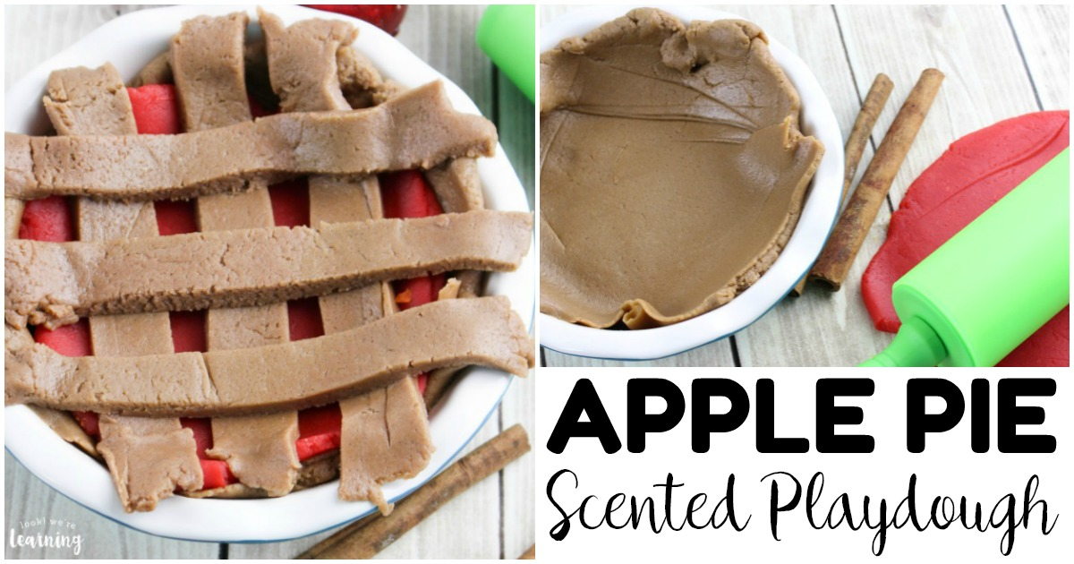 Easy Apple Pie Playdough Recipe for Kids