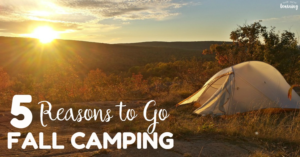 Five Reasons to Go Fall Camping