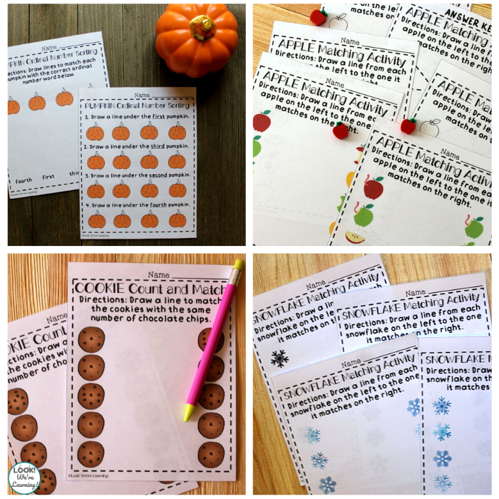 Fun Preschool Matching Worksheets for Kids