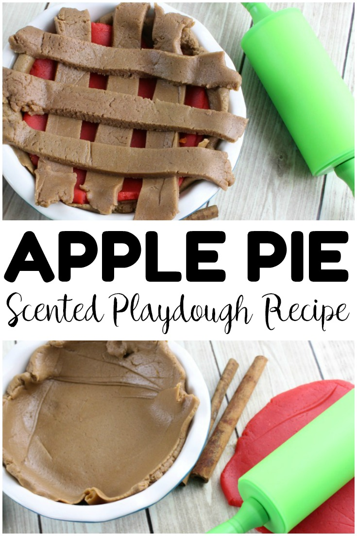 Fall Apple Pie Playdough For Kids Look We Re Learning