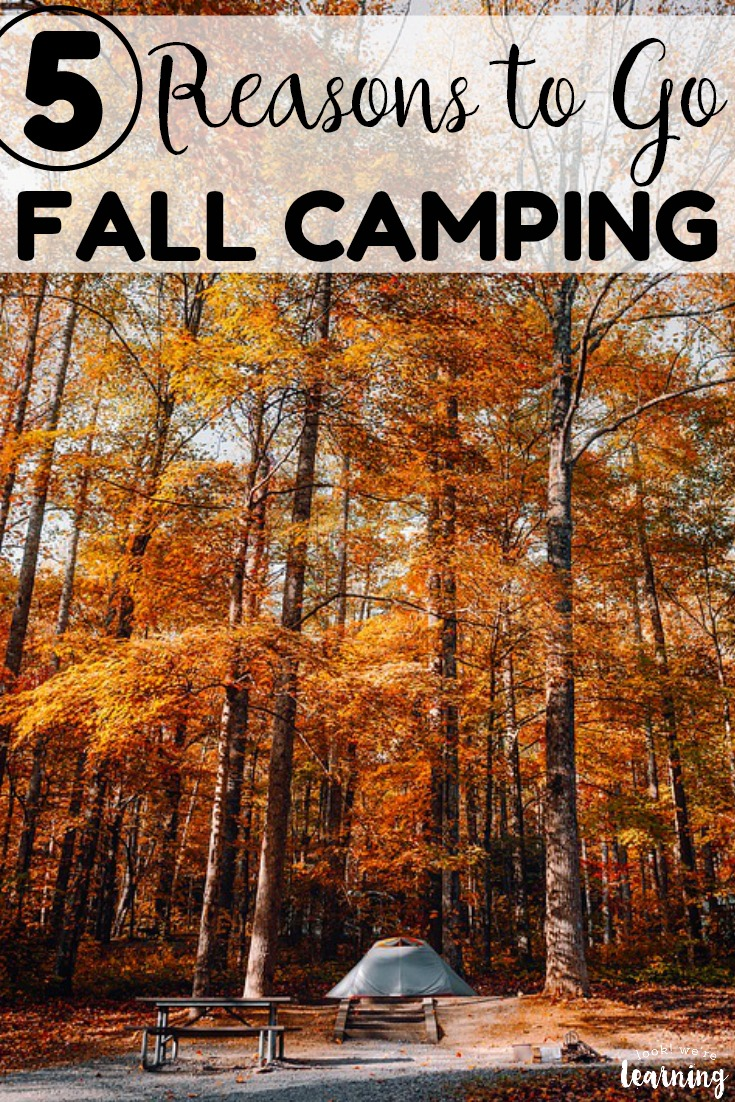 Plan a fun family getaway this autumn and go fall camping as a family! See why this is the best time of year to head outside together!