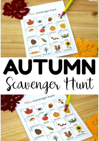 5 Reasons to Go Fall Camping and a Fall Scavenger Hunt for Kids!