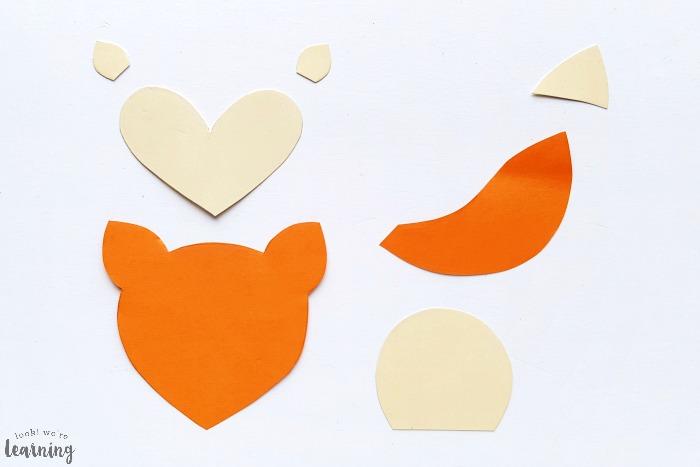 DIY Paper Bag Fox Craft for Kids