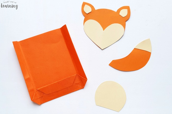 Easy Paper Bag Fox Craft to Make