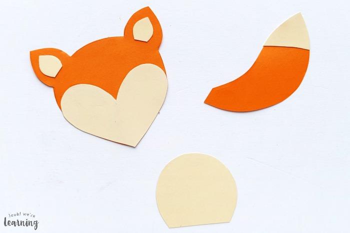 Easy Paper Bag Fox Craft