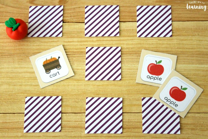 Fun Printable Fall Memory Game