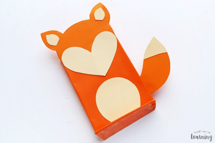 Simple Paper Bag Fox Craft to Make with Kids