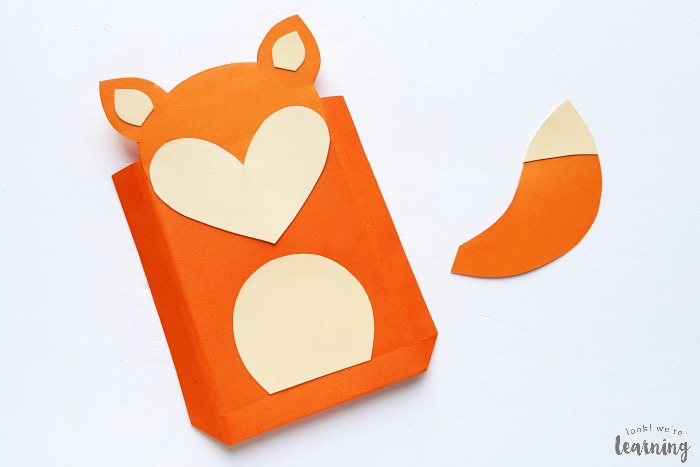 Simple Paper Bag Fox Craft