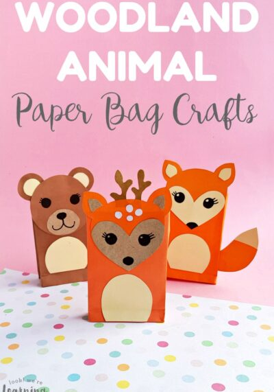 Easy Paper Bag Fox Craft for Kids