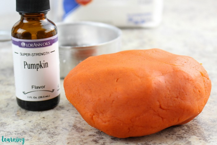 Fall Scented Pumpkin Pie Playdough Recipe for Kids