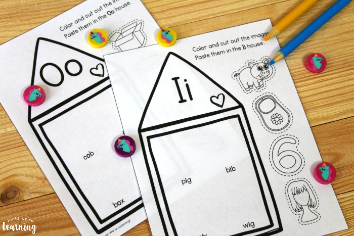 Hands On Short Vowel Sound Activity