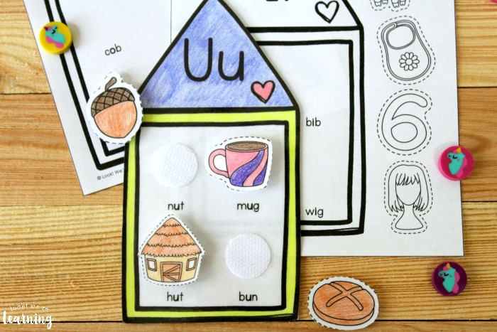 Hands On Short Vowel Sounds Activity for Kids