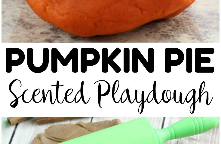 Easy Scented Pumpkin Pie Playdough Recipe for Kids