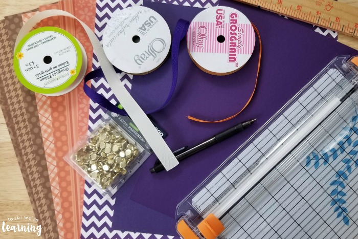 Paper Pumpkin Craft Supplies