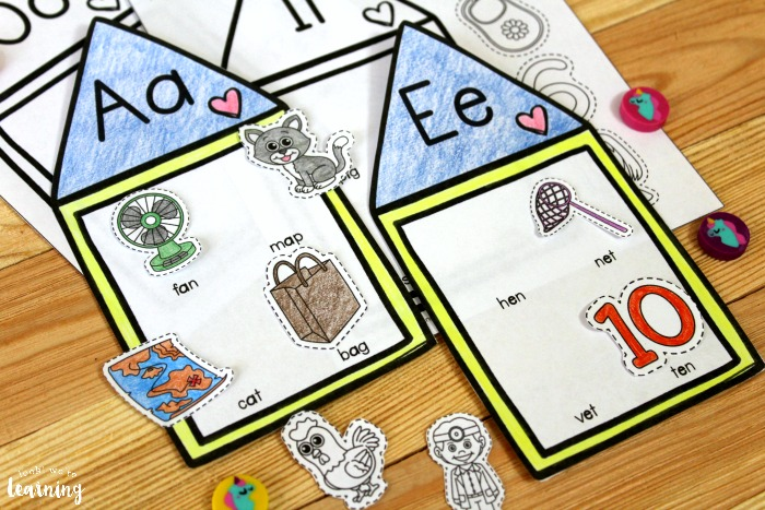 Printable Short Vowel Sound Activity for Kids