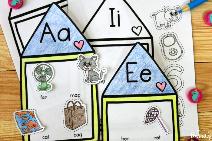 Printable Short Vowel Sound Activity