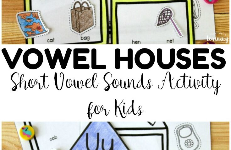 Vowel Houses! Short Vowel Sounds Activity for Kids
