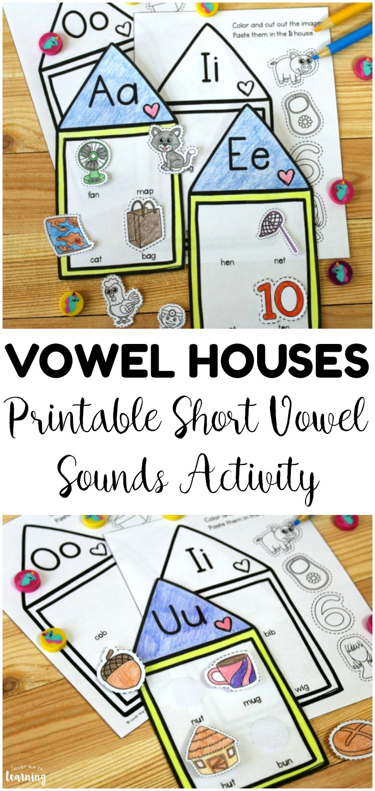 Work on phonics for early grades with this fun vowel houses short vowel sounds activity! Great for literacy centers and morning tubs!