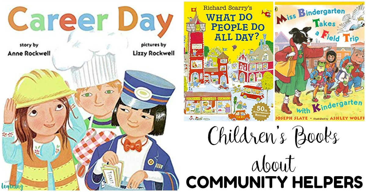 20 Books about Community Helpers for Kids