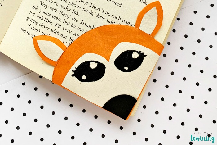 Easy Origami Fox Bookmark Craft