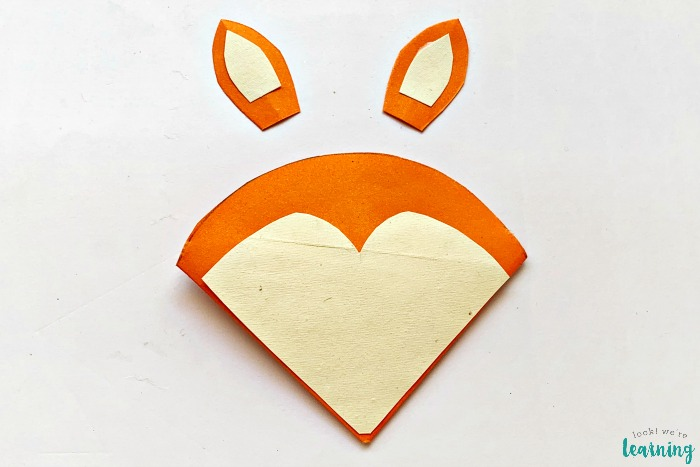 How to Make an Origami Fox Corner Bookmark Craft