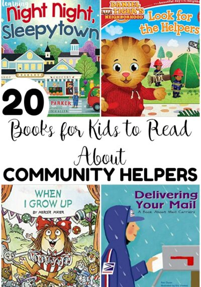 Introduce kids to the helpers in your town with these kids' books about community helpers! Great for read-aloud time with early learners!