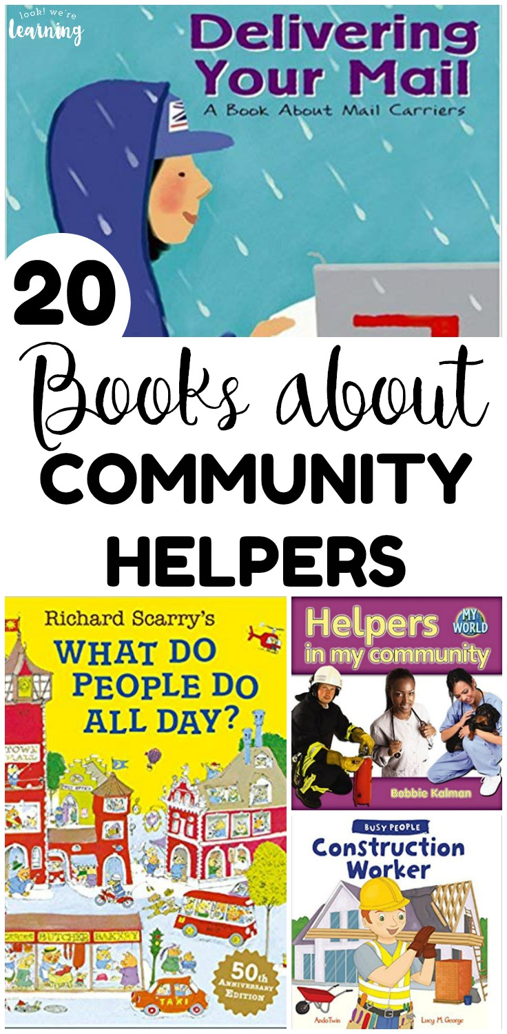 These books about community helpers for kids are great for teaching little ones about the jobs in the community!