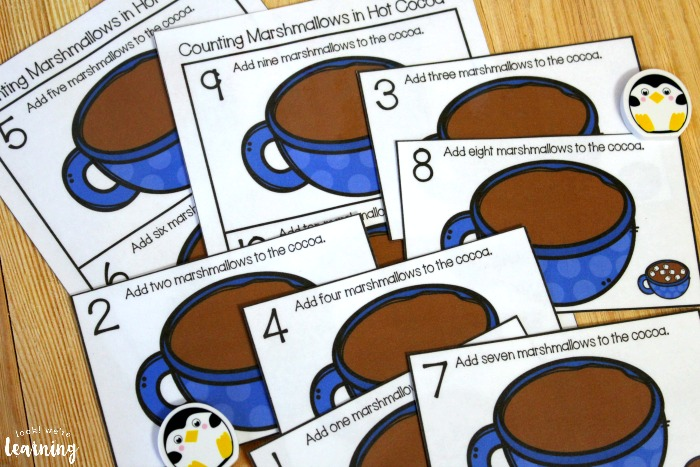 1-10 Counting Cards for Kids