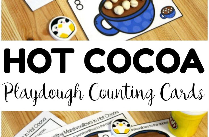 Cocoa Count! Hot Cocoa 1-10 Counting Cards for Kids