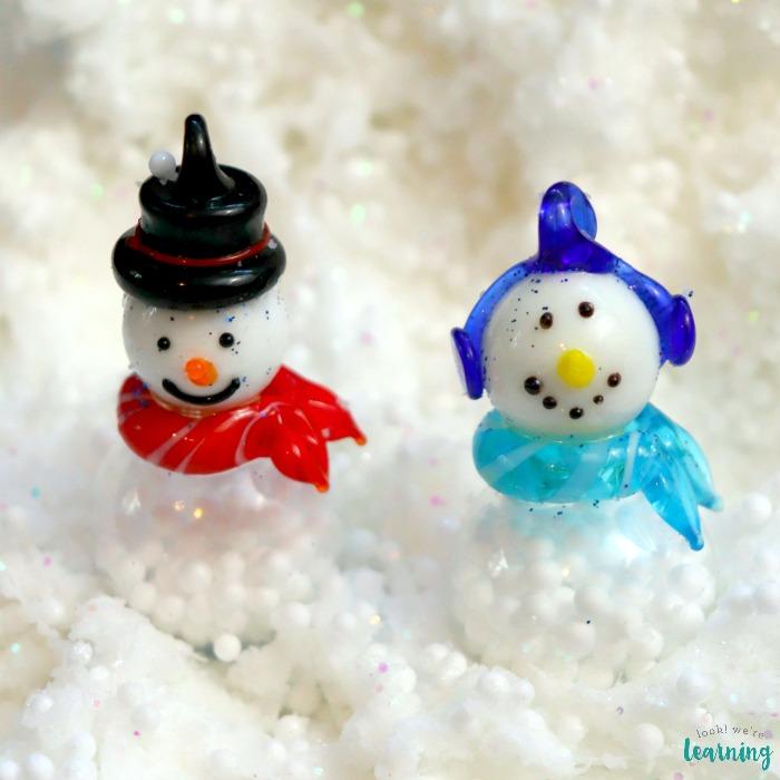 DIY Fluffy Snowman Slime Recipe