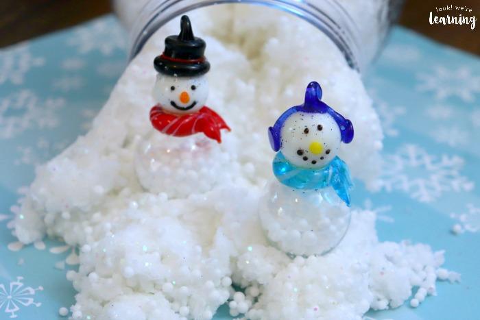 Fun Snow Slime for Kids to Make