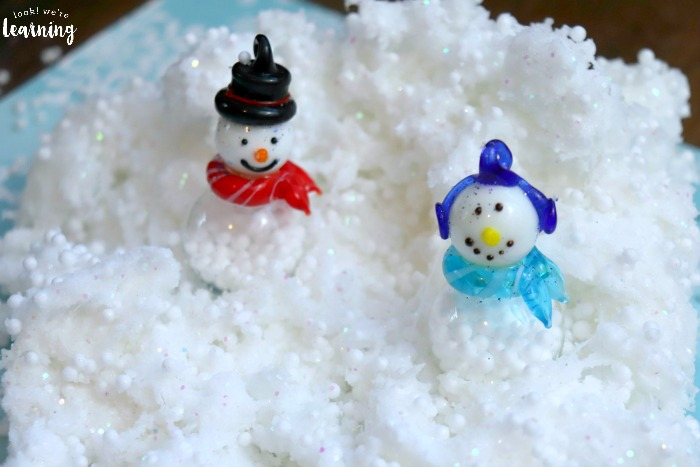 Fun Snowman Slime Recipe for Kids to Make
