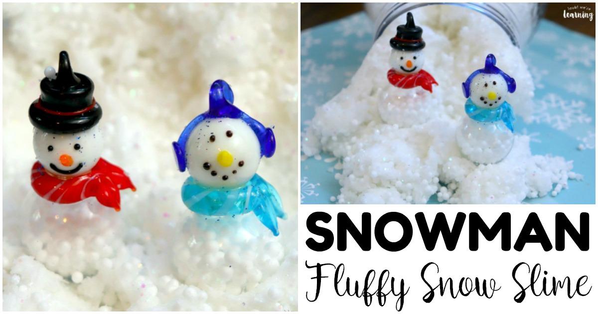 Fun Snowman Slime Recipe for Kids